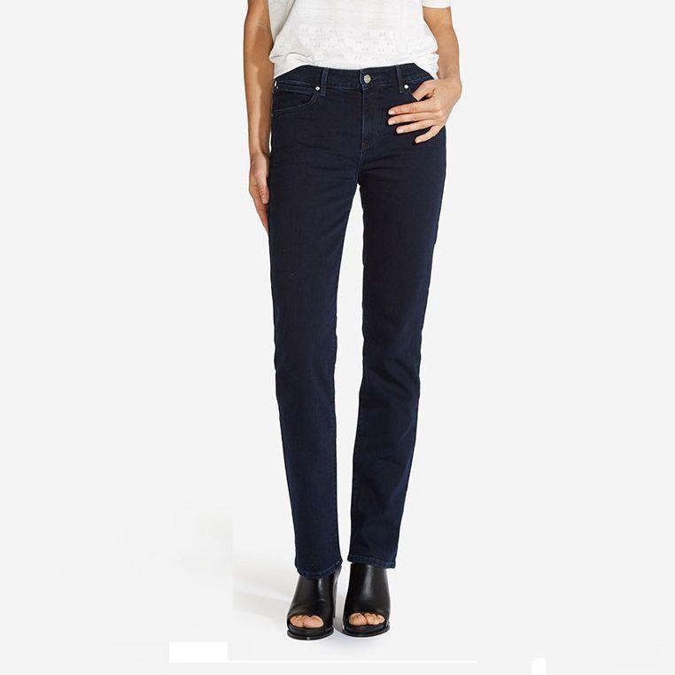 4a4c531f7df Dámské džíny Wrangler Straight Blueblack W28TQC51L 26-32