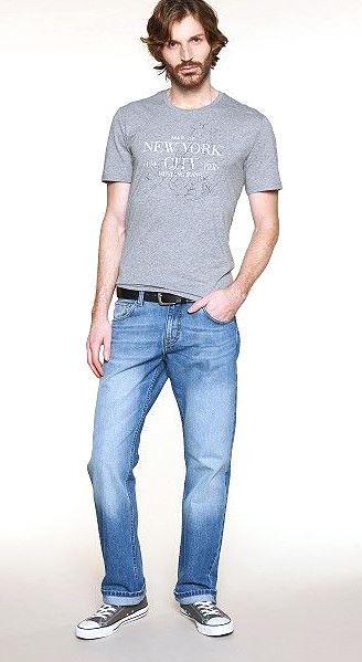 Pánské džíny Straight