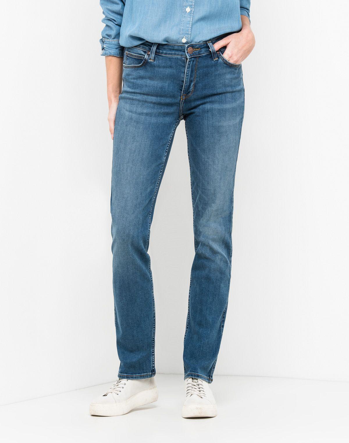Dámské džíny Straight 43f6ae8041