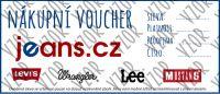 Nákupní voucher - dárkový poukaz v hodnotě 1000 Kč