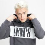 Pánská mikina Levi's® PIECED PULLOVER HOODIE PIECED PULLOVER H 8562000000