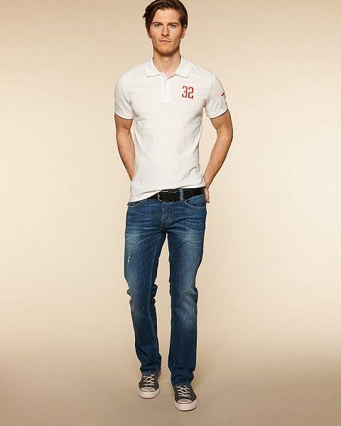 Pánské džíny Slim