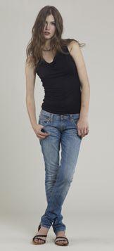 Dámské džíny Straight