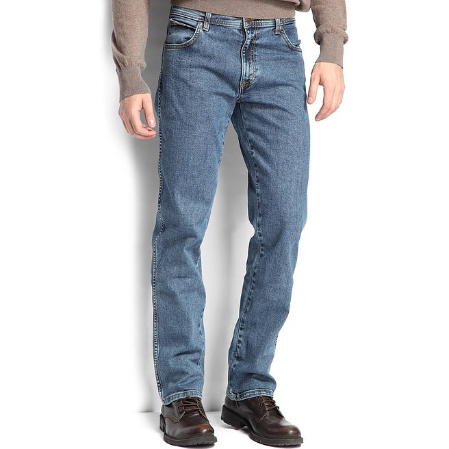 Wrangler jeans pánské Texas Stone Wash W12133010 30-32