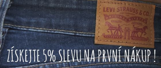 5% sleva na první nákup